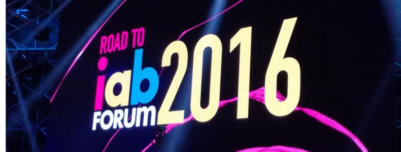 iab forum 2016 – limitless possibilities