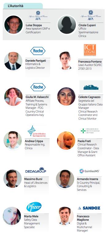 Life Science data congress relatori per Media For Health 2