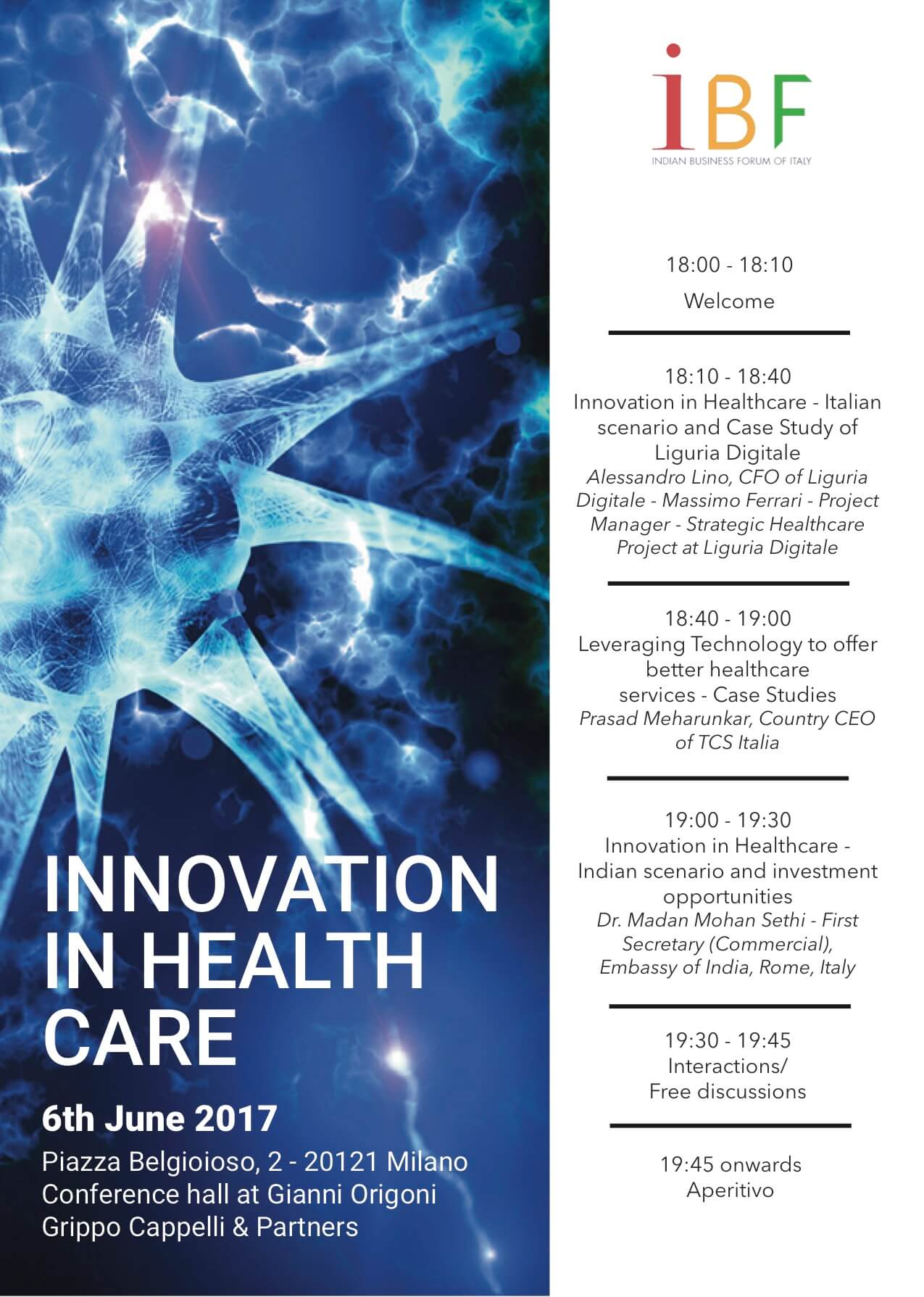 indian business forum of italy - media for health
