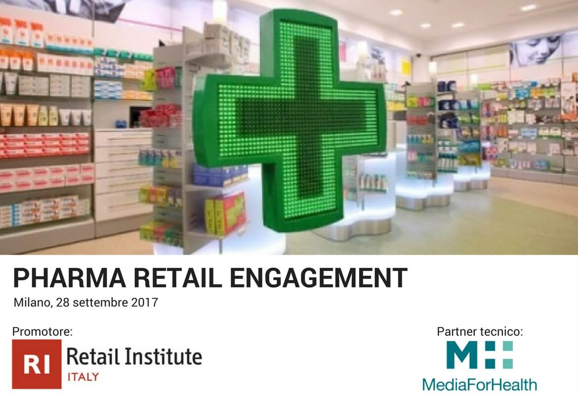 pharma retail engagement per media for health