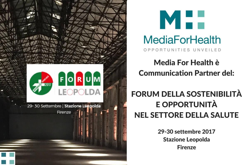 opportunità nel settore della salute media for health forum leopolda in sanità