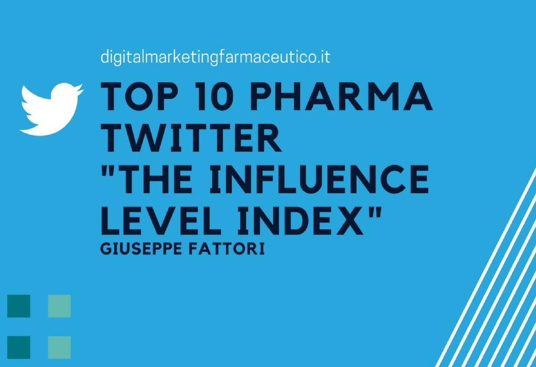 top 10 pharma twitter digital marketing farmaceutico
