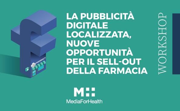 sell out farmacia con facebok media for health