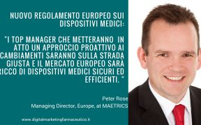 Regolamento europeo Peter Rose per Media For Health