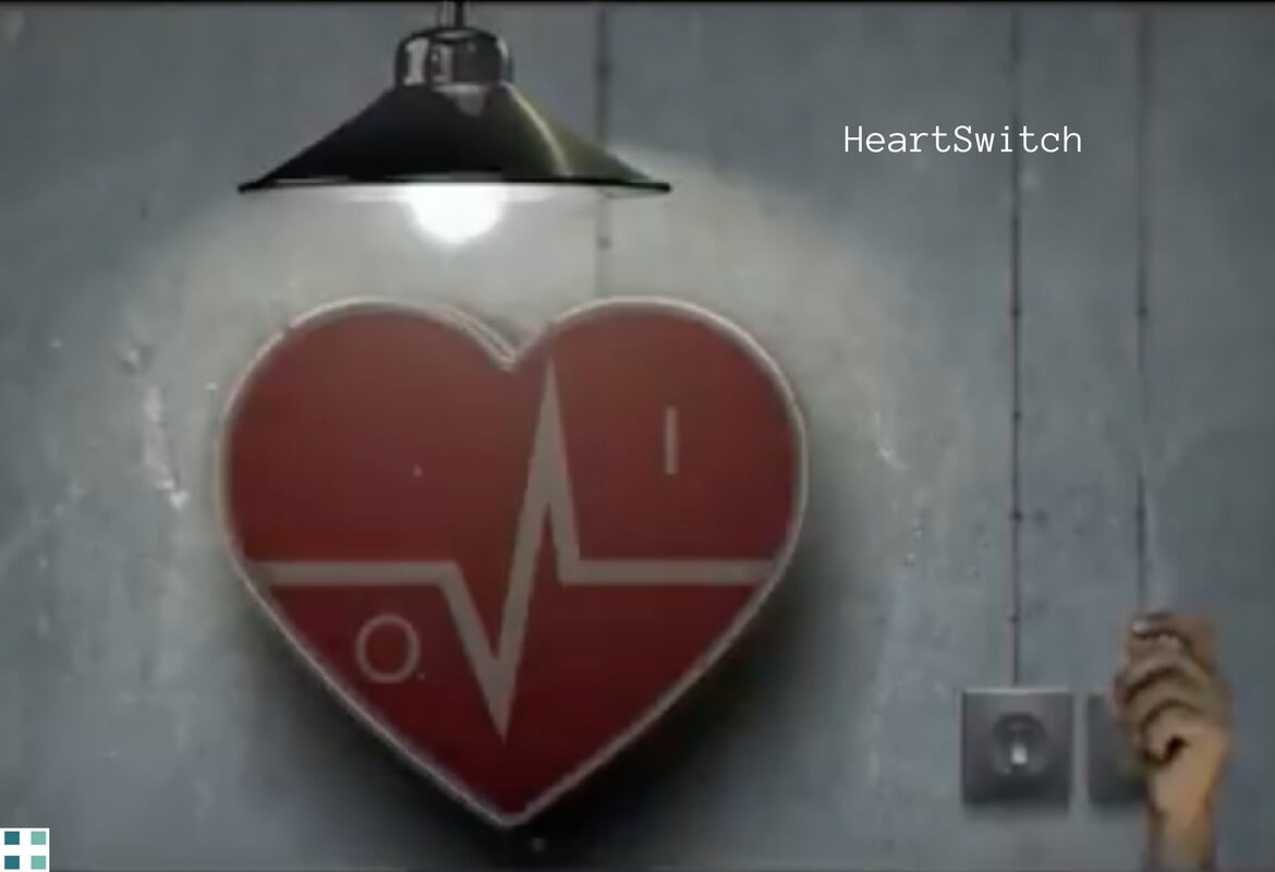 HeartSwitch digital pharma per media for health digital health