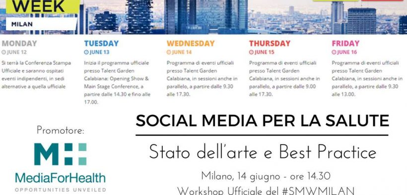 Social Media per la Salute media for health digital marketing farmaceutico