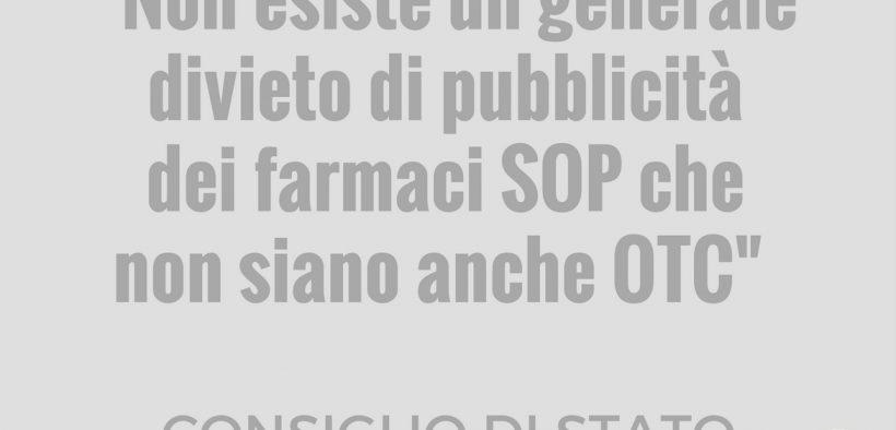pubblicità dei farmaci SOP per media for health