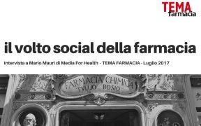 il volto social della farmacia Mario Mauri Media For Health Web Pharma