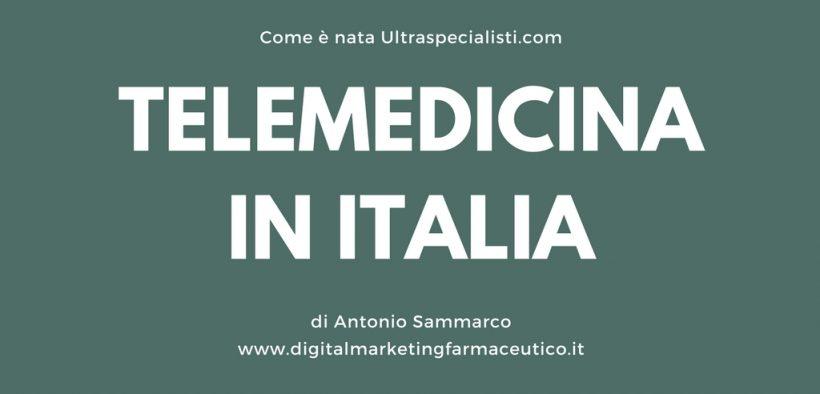 TELEMEDICINA IN ITALIA media for health