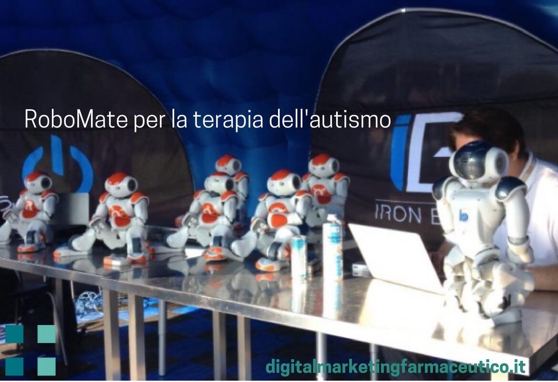 RoboMate autismo digital marketing farmaceutico
