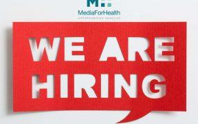 Offerte Media For Health job marketing farmaceutico