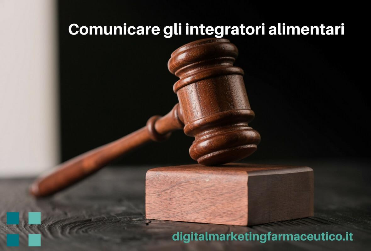 comunicazione degli integratori alimentari