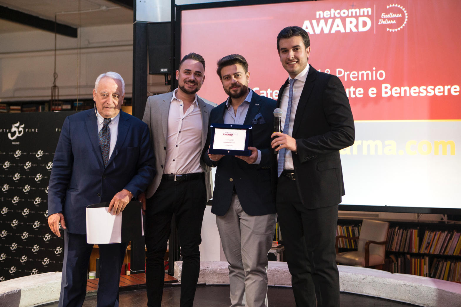 netcomm award efarma ecommerce farmaci