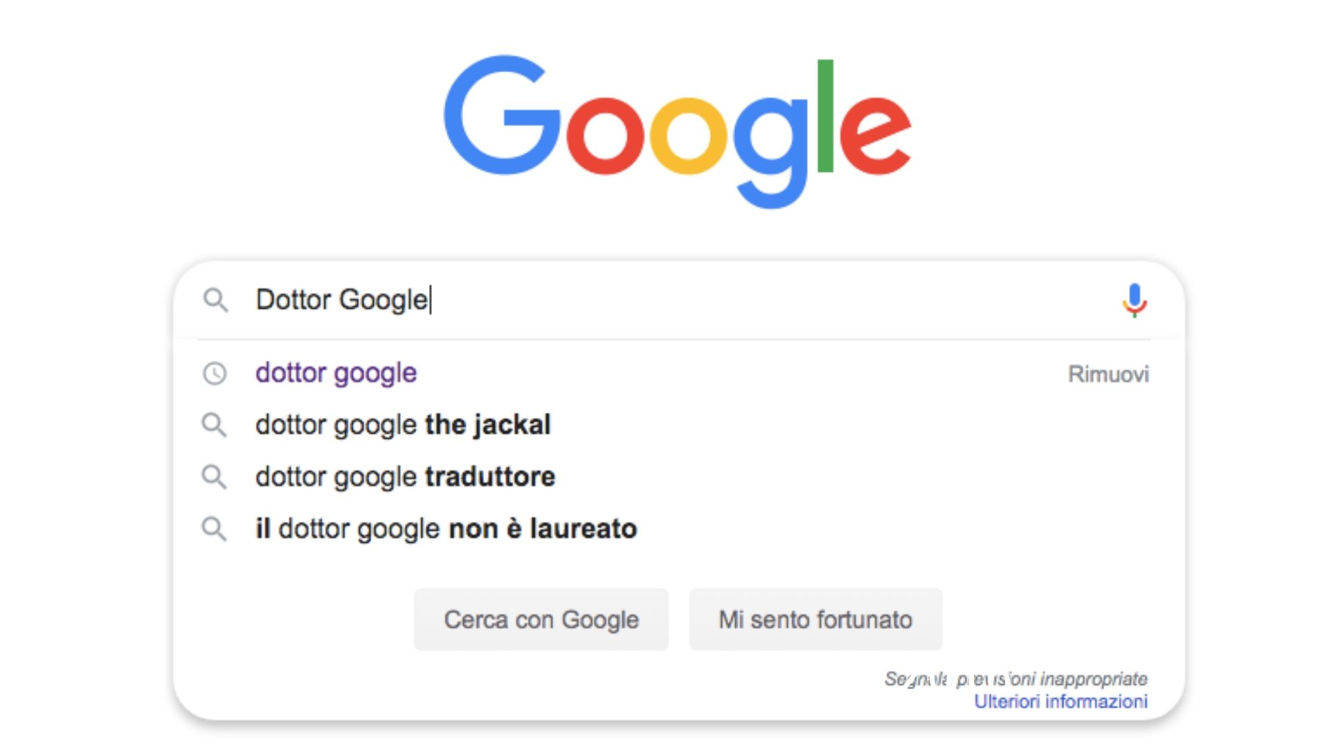 Dottor Google the Jackal