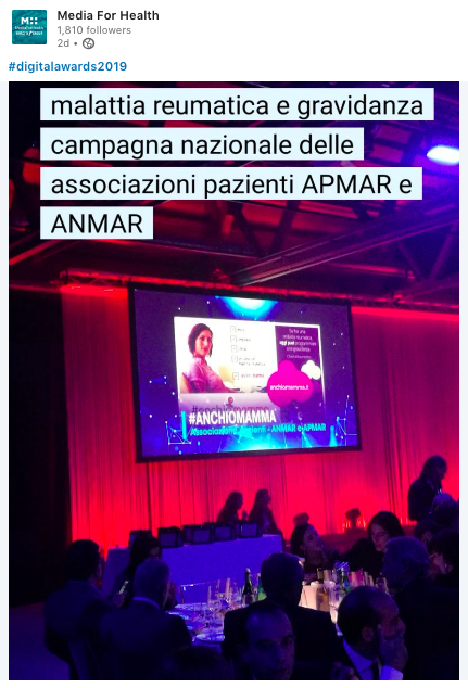 Media For Health Anchiomamma Anmar Apmar aboutpharma digital awards 2019