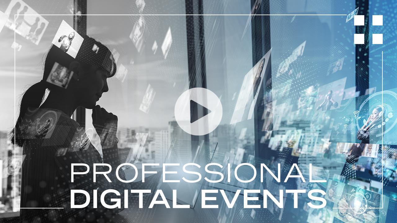 Professional Digital Events